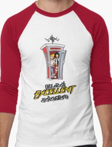 Bill and Ted's Excellent Adventure Men's Baseball ¾ T-Shirt