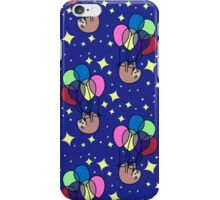 Balloon Sloth Pattern iPhone Case/Skin