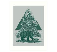 Teddy Bear Picnic Art Print