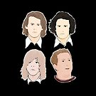 I Kveld Med Ylvis for dark shirts by houndofsiru