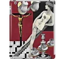 Sunday Crossword, Seven Down iPad Case/Skin