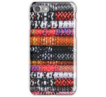 Colorful Textile Patterns iPhone Case/Skin