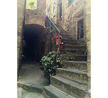 Italian Stairway Photographic Print