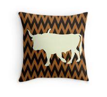 Aurochs Throw Pillow