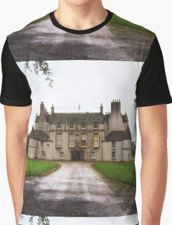 Leith Hall Facade - (Huntly, Aberdeenshire, Scotland) Graphic T-Shirt