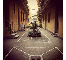 Roman Courtyard  Photographic Print