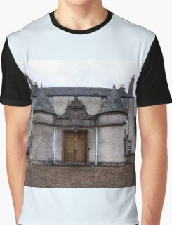 Leith Hall Back Entry - (Huntly, Aberdeenshire, Scotland) Graphic T-Shirt