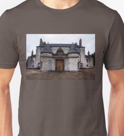 Leith Hall Back Entry - (Huntly, Aberdeenshire, Scotland) Unisex T-Shirt