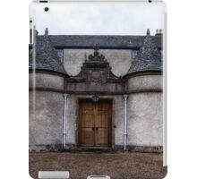 Leith Hall Back Entry - (Huntly, Aberdeenshire, Scotland) iPad Case/Skin