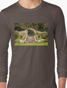 Leith Hall Garden Architectural Details - (Huntly, Aberdeenshire, Scotland) Long Sleeve T-Shirt