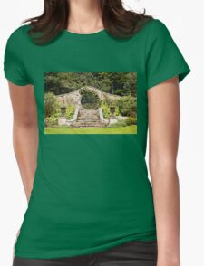 Leith Hall Garden Architectural Details - (Huntly, Aberdeenshire, Scotland) Womens Fitted T-Shirt