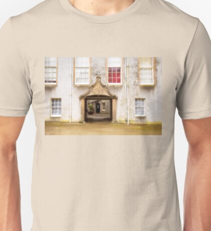 Leith Hall Architectural Details - (Huntly, Aberdeenshire, Scotland) Unisex T-Shirt