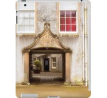 Leith Hall Architectural Details - (Huntly, Aberdeenshire, Scotland) iPad Case/Skin