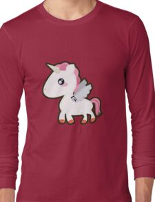 Kawaii Unicorn Long Sleeve T-Shirt