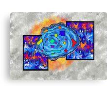 Abstract digital art - Gougelon V2 Canvas Print
