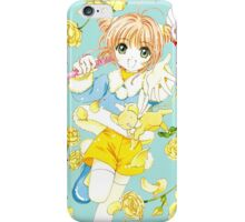 Sakura vs. Blue Jumper iPhone Case/Skin