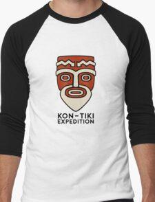 Kon Tiki Expedition Men's Baseball ¾ T-Shirt