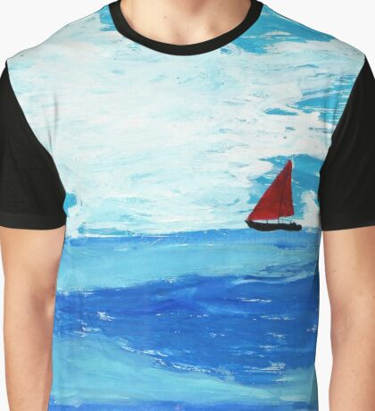 Red Sail Graphic T-Shirt
