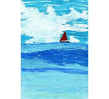 Red Sail Photographic Print