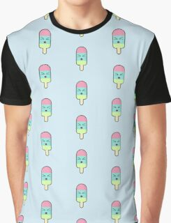 Kawaii Ice cream Graphic T-Shirt