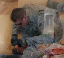 Combat Medic Sticker