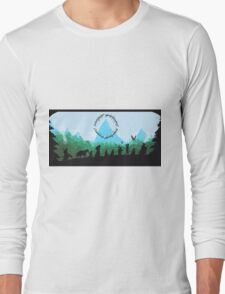 Lord of the Rings Travel Design Long Sleeve T-Shirt