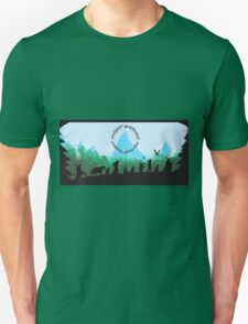 Lord of the Rings Travel Design T-Shirt