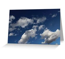 Classy Clouds Greeting Card