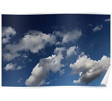 Classy Clouds Poster