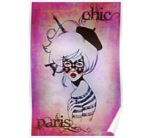 Chic Paris  Poster