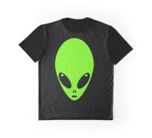 Alien Head Graphic T-Shirt