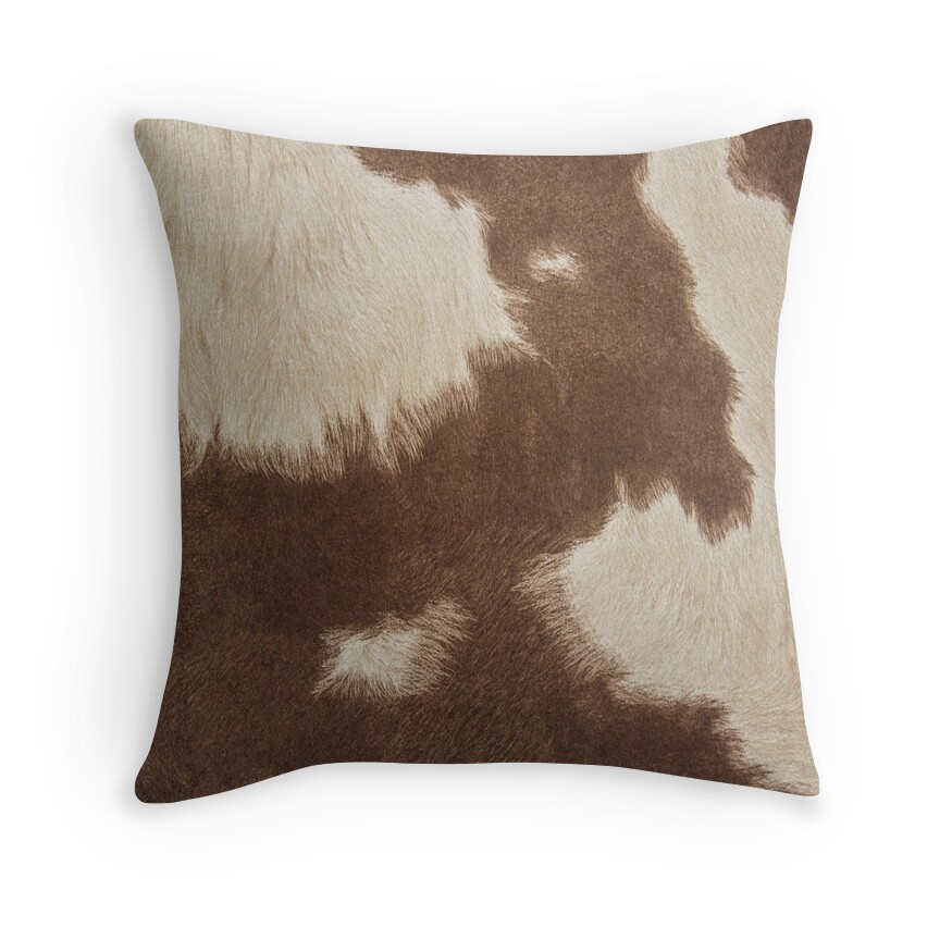 Brown And Red Throw Pillows