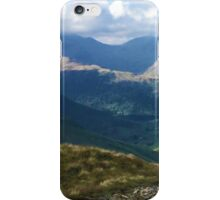 Lake District Fell Runner iPhone Case/Skin