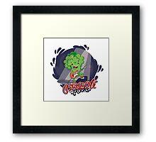 Broccoli Rocks! Framed Print