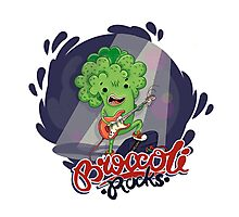 Broccoli Rocks! Photographic Print