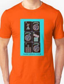 """Lucky Sevens and Jokers """"Mah Jongg Luck"""" #11 ~ Mah Jongg Series Unisex T-Shirt"""