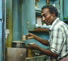 Chai in Madurai  by Valerie Rosen