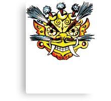 Tribal Mask Canvas Print