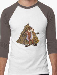 Squirrel ! Men's Baseball ¾ T-Shirt