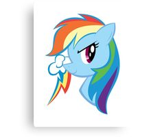 MLP: Rainbow Dash Canvas Print