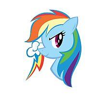 MLP: Rainbow Dash Photographic Print