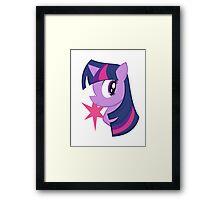 MLP: Twilight Sparkle Framed Print