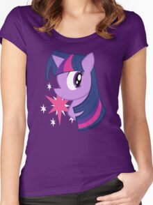MLP: Twilight Sparkle Women's Fitted Scoop T-Shirt