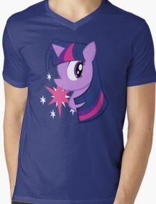 MLP: Twilight Sparkle Mens V-Neck T-Shirt
