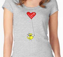 LOVE BIRD Women's Fitted Scoop T-Shirt
