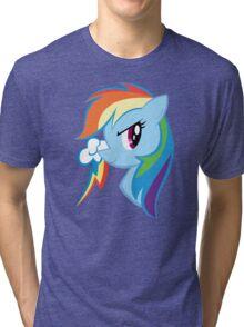 MLP: Rainbow Dash Tri-blend T-Shirt