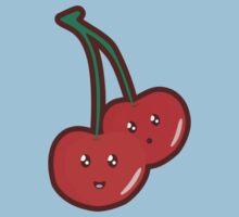 Kawaii Cherry One Piece - Short Sleeve
