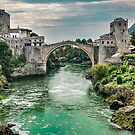 "Stari Most ""Old Bridge"" Mostar by Colin Metcalf"