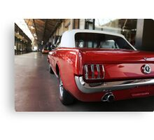 ford mustang, cabriolet classic car Canvas Print