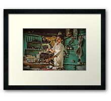 Turning up the Heat   Framed Print
